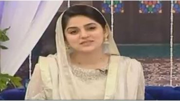 The Morning Show with Sanam Baloch Rabi ul Awal Special 12th