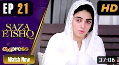Saza E Ishq Episode 21