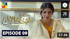 Mohabbat Tujhe Alvida Episode 9