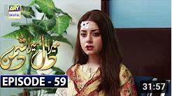 Mera Dil Mera Dushman Episode 59
