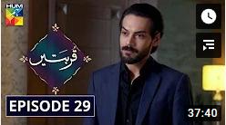 Qurbatain Episode 29
