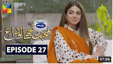 Mohabbat Tujhe Alvida Episode 27