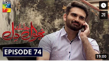 Bhool Jaa Ay Dil Episode 74