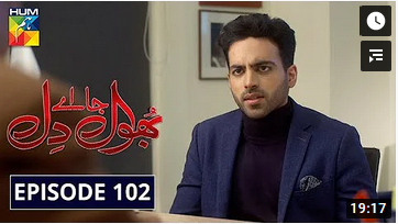 Bhool Jaa Ay Dil Episode 102