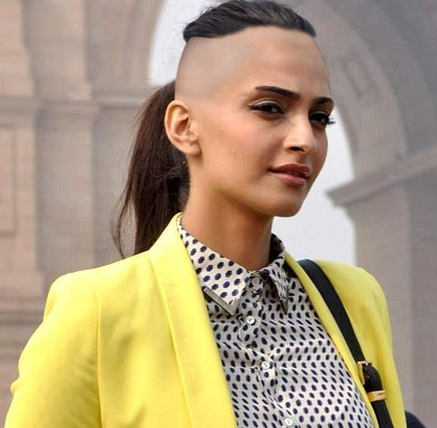 Sonam Kapoor ready to become bald
