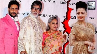 Bachchan Family About Aishwarya For Bold Scenes ADHM