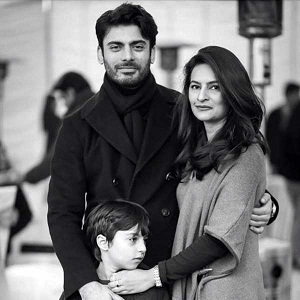 Family Picture of Fawad Khan Best thing in Today