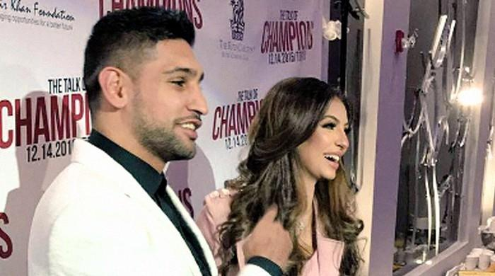 Boxer Amir Khan and wife invited or not?