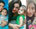 Pakistani Actresseswho are Mothers of Beautiful Baby Girls