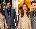 Actor Humayun Saeed And His Wife
