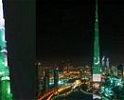 Burj Khalifa Lights Up With Pakistani Flag