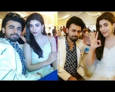 Farhan Saeed And Urwa Farhan Together