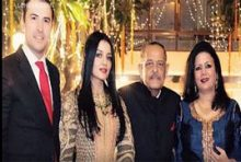 Celina Jaitly's Father is died