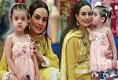 Pictures of Sadia Imam with her Daughter Meerab