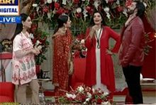 Sanam Baloch Questioned To Agha Ali And Sarah Khan