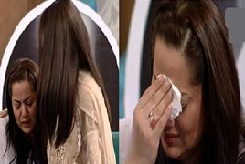 Najia Baig Crying During Live Show