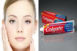 Face Whitening With Toothpaste