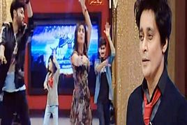 Aleena Dance in Sahir Lodhi Morning Show