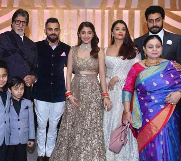 Anushka Sharma & Virat Kohli Marriage Reception