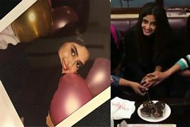 Sajal Ali celebrating Her Birthday