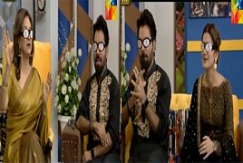 Bushra Ansari, Kubra khan and Yasir khan Making Fun