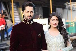 Ayeza Khan and Danish Taimoor participate in Recent Wedding