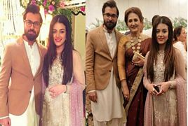 Zara Noor Abbas With Her Mother Asma Abbas And Husband At We