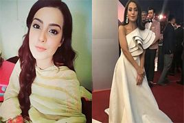 Shocking Dress of Iqra Aziz in Lux Style Awards 2018