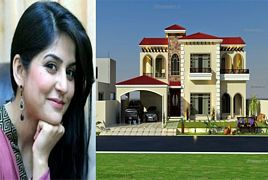 Inside View of Morning Show Host Sanam Baloch's House