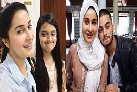 Morning Show Host Shaista Lodhi With Her Son And Daughter