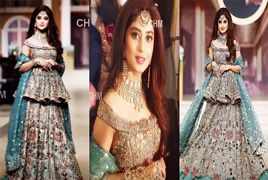 Actress Sajal Ali Looking Beautiful While Modeling