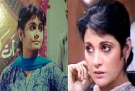 Pakistani Actress Shenaz Sheikh Then and Now
