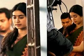 Jhanhvi Kapoor is Looking Sad on Shooting of Her Film after