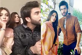 Ayeza Khan Singing Noor Ul Ain Drama OST With Imran Abbas �