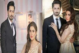 Ayeza Khan Latest Photo-shoot With Danish Taimoor