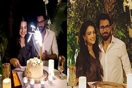 Zara Noor Abbas Got Surprised Birthday From Her Husband Asad
