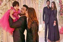 Beautiful Pictures of Actor Sami Khan With His Wife