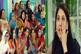 Hina Altaf Crying in a Live Morning Show