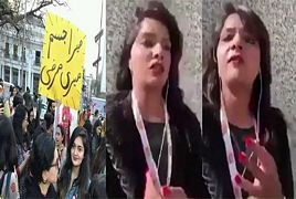 Video Message Of Girl Who Celebrates Women's Day In Unique