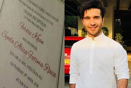 Feroze Khan Wife Name And Wedding Date Revealed