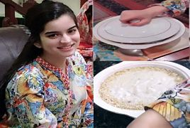 Feroze Khan Wife Aliza Fatima Cooking