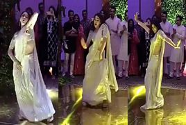 Saif Ali Khan's Daughter Sara Ali Khan Dance