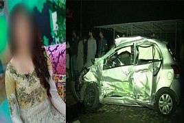 Pakistani Actress Badly Injured In Road Accident