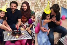 Shahid Afridi Celebrated His Daughter Asmara's 6th Birthda