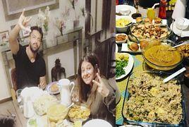 Fahad Mustafa Doing Iftar With His Wife Sana Fahad