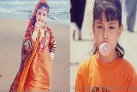 Beautiful Pakistani Actress Childhood Memories