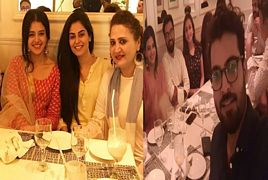 Zara Noor Abbas Doing Sehri With Her Mother Asma Abbas