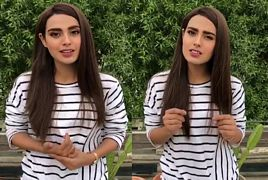 Special Video Message by Iqra Aziz to Fans