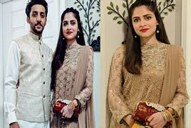 Arij Fatyma On Eid Ul Fitr with her husband