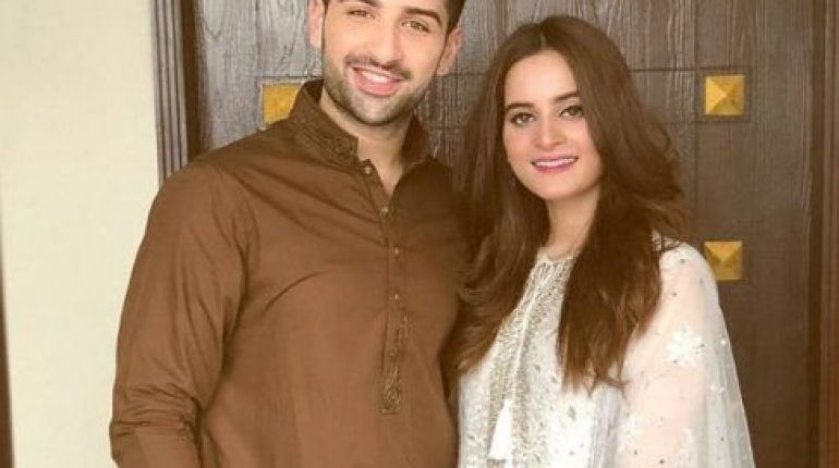 Aiman Khan And Muneeb Butt Celebrated This Eid Together